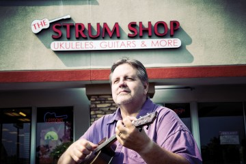 Stu Herried Strum Shop Ukulele Magazine