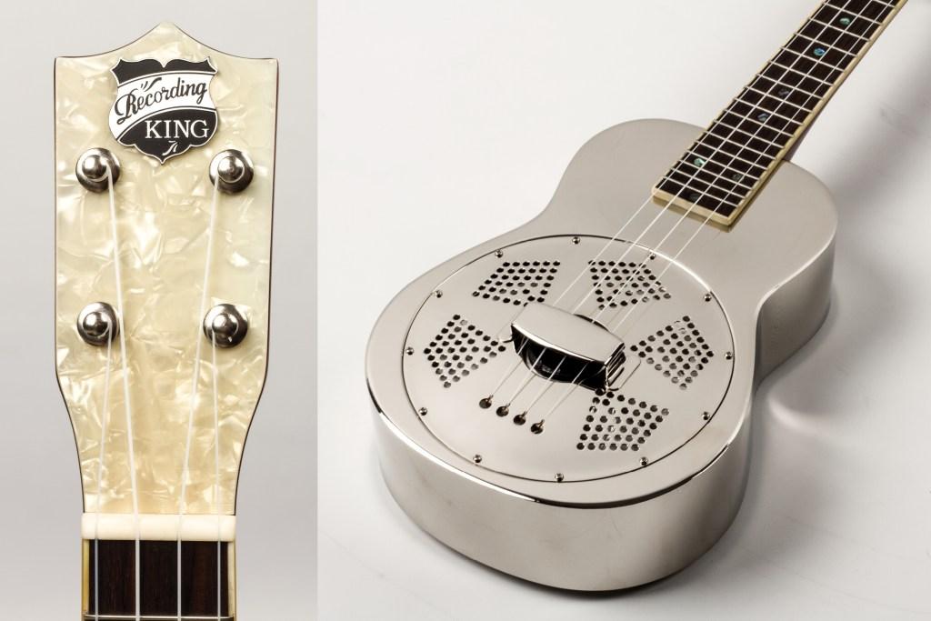 Recording King resonator ukulele RU-998 Metal Body Ukulele Review Ukulele Magazine