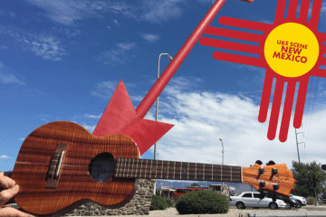 Uke Scene New Mexico Heidi Swedberg Mexican Food Tourism Ukulele Travel