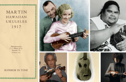 100 Years of C.F. Martin Ukuleles Historic Hawii Ohta San Iz Cliff Edwards 1917