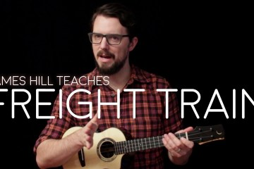 James Hill Ukulele Jim Beloff Fingerpicking Freight Train elizabeth cotten