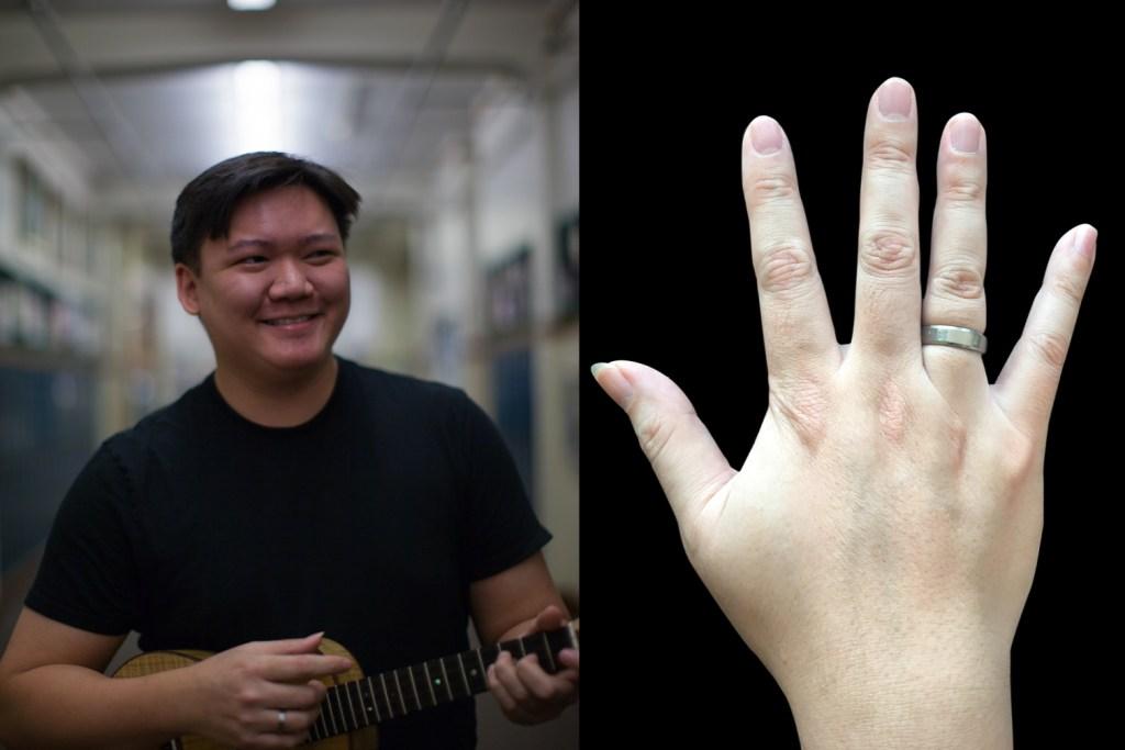picking hands of ukulele player craig chee