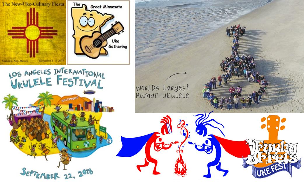 Ukulele Events: September, October, November & December 2018