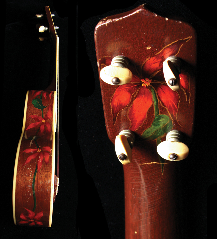 Gibson Poinsetta Great ukes_detail2