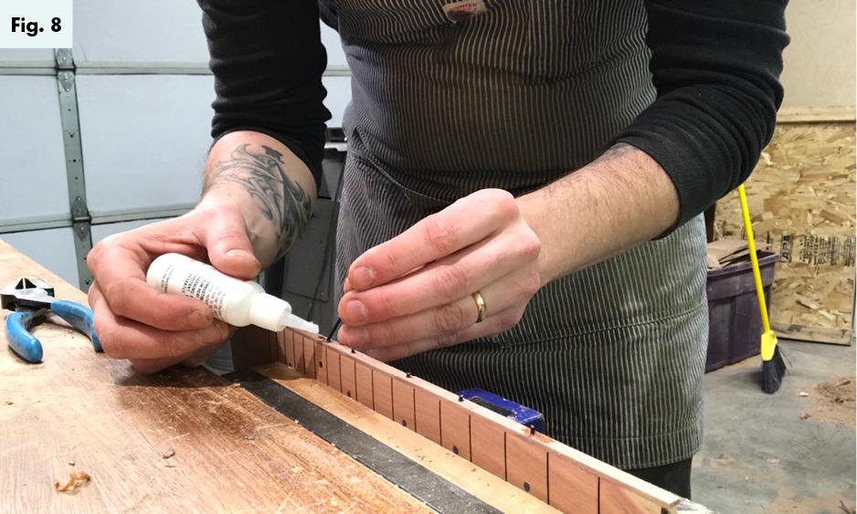 building a ukuke part 2 the fingerboard fig8