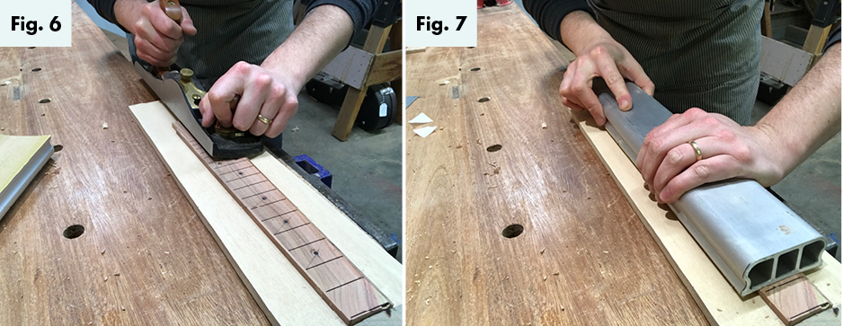 building a ukuke part 2 the fingerboard figs6-7