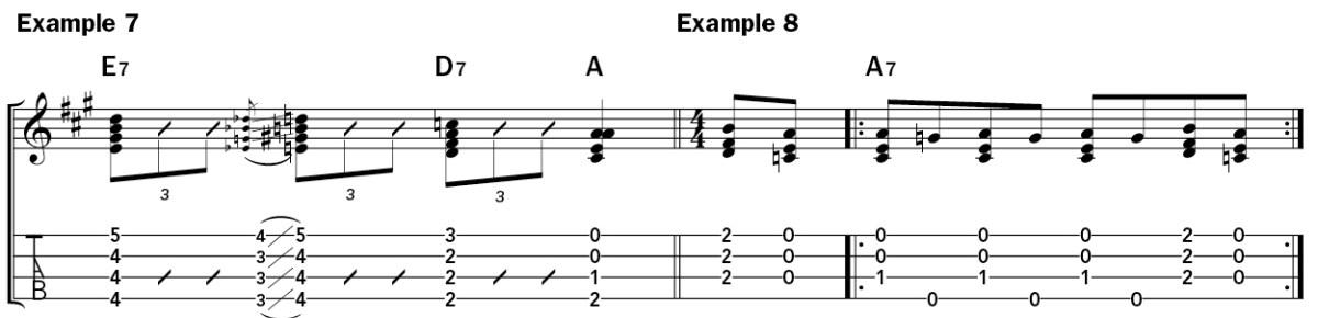 How to Solo on Ukulele example 7-8