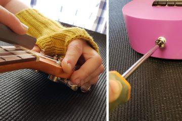 ukulele setup