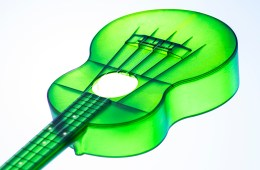 green plastic ukulele outdoor brand