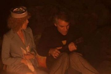 Steve Martin plays ukulele with Bernadette Peters in The Jerk