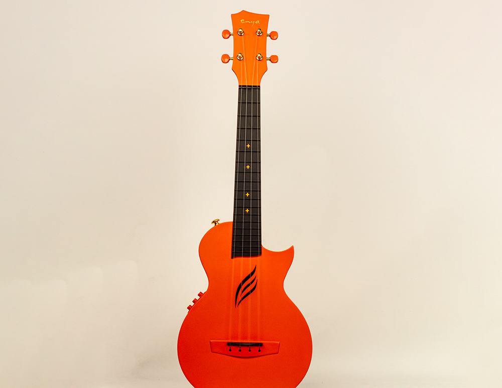 Nova U Carbon Orange Concert Ukulele