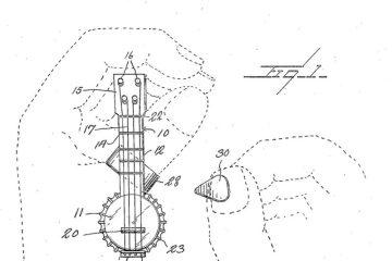 The infamous ring-mounted miniature ukulele.
