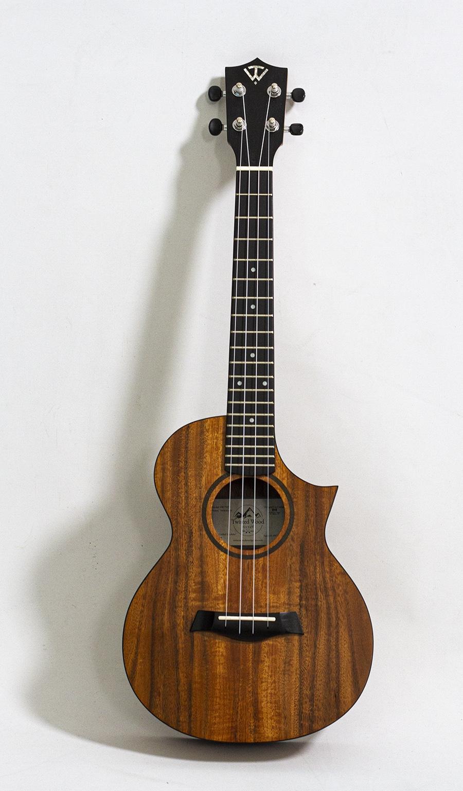 Twisted Wood Switchback tenor ukulele