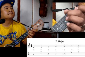 how to play ukulele scales