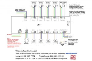 Wiring Diagrams  UK Underfloor Heating