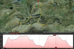Tryfan Route Map