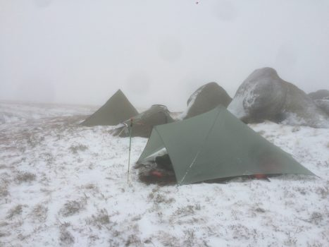 Kinder North Edge Wild Camp