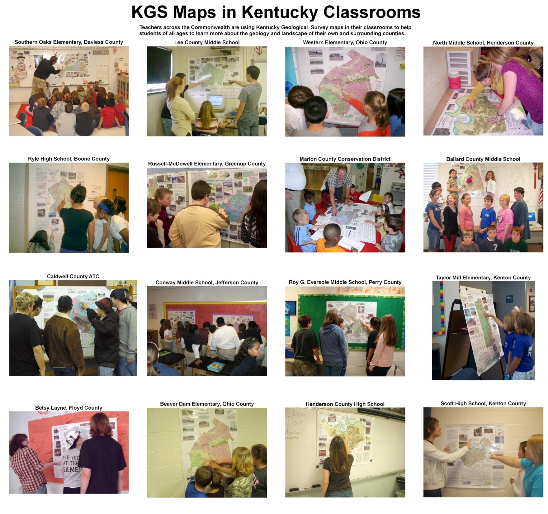 Earth Science Resources Available To Kentucky Teachers