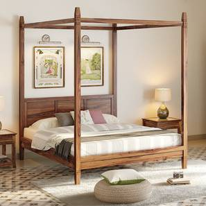 malabar four poster bed solid wood