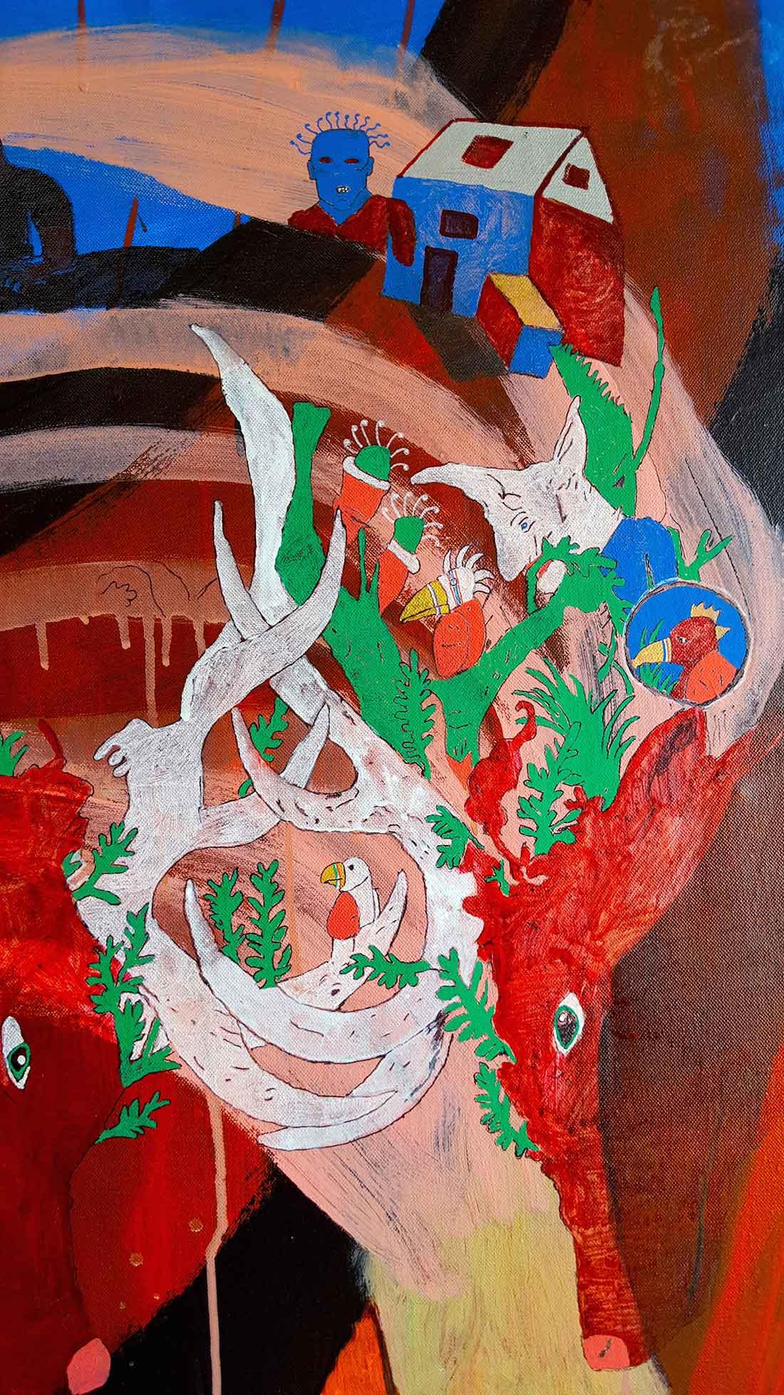 Úlfur Karlsson Artist - By Proxy II (detail)