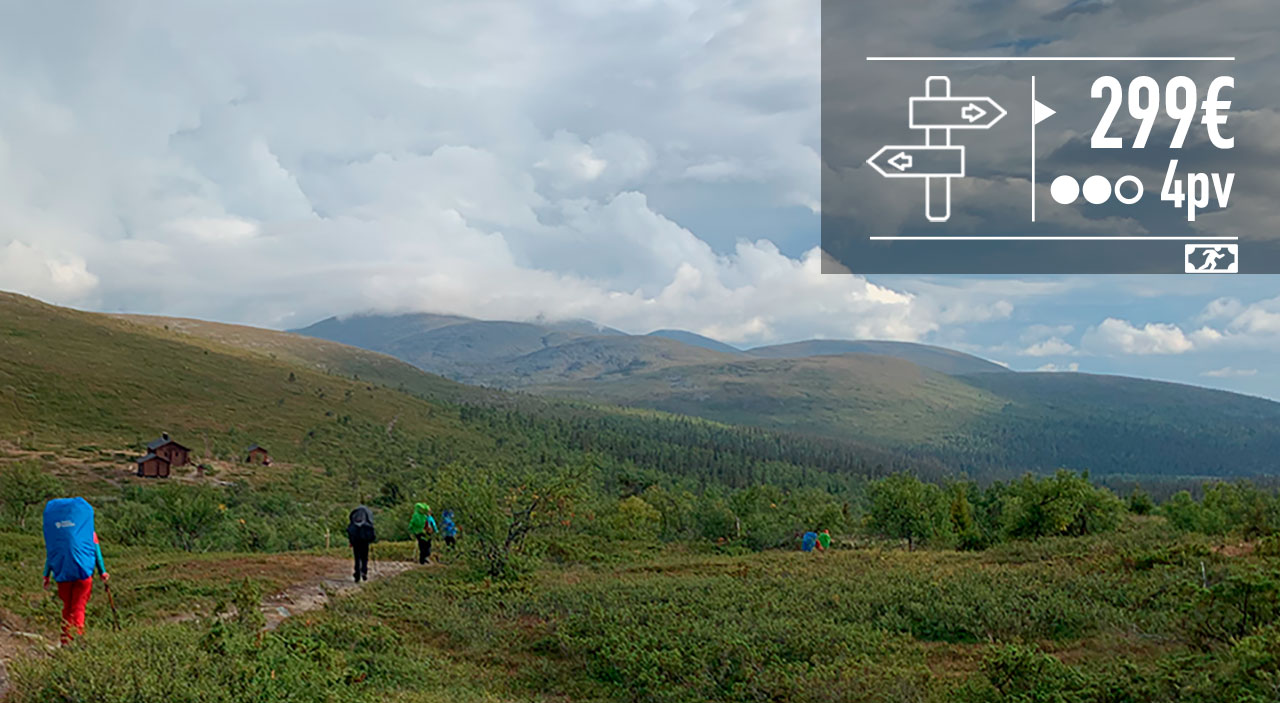 Hetta – Pallas, Pallas-Yllästunturin kansallispuisto, Muonio (12.-15.9.2021)