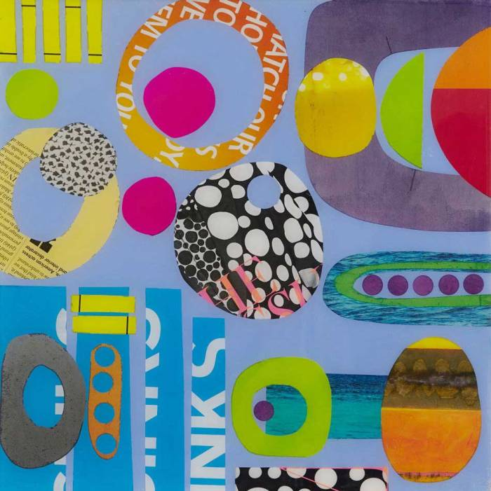 Collage No192 by Suzanne Currie