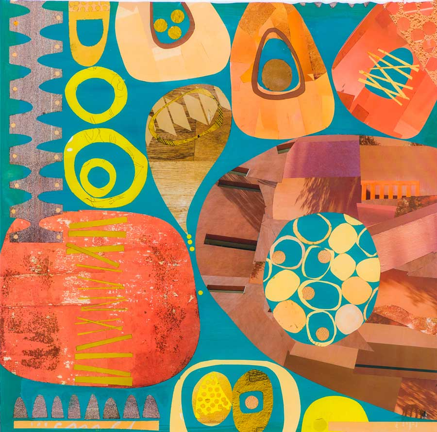 Collage No217 by Suzanne Currie