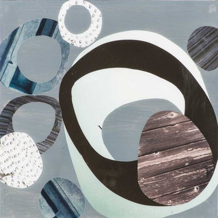 Collage No252 by Suzanne Currie