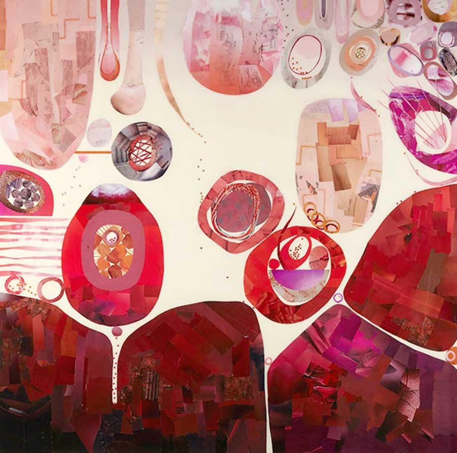 Collage No270 by Suzanne Currie