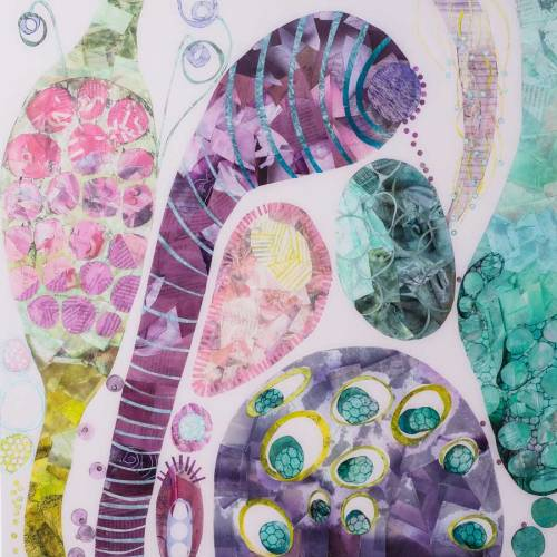 Collage No300 by Suzanne Currie