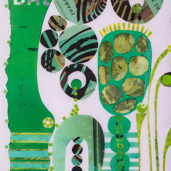 Collage No305 by Suzanne Currie