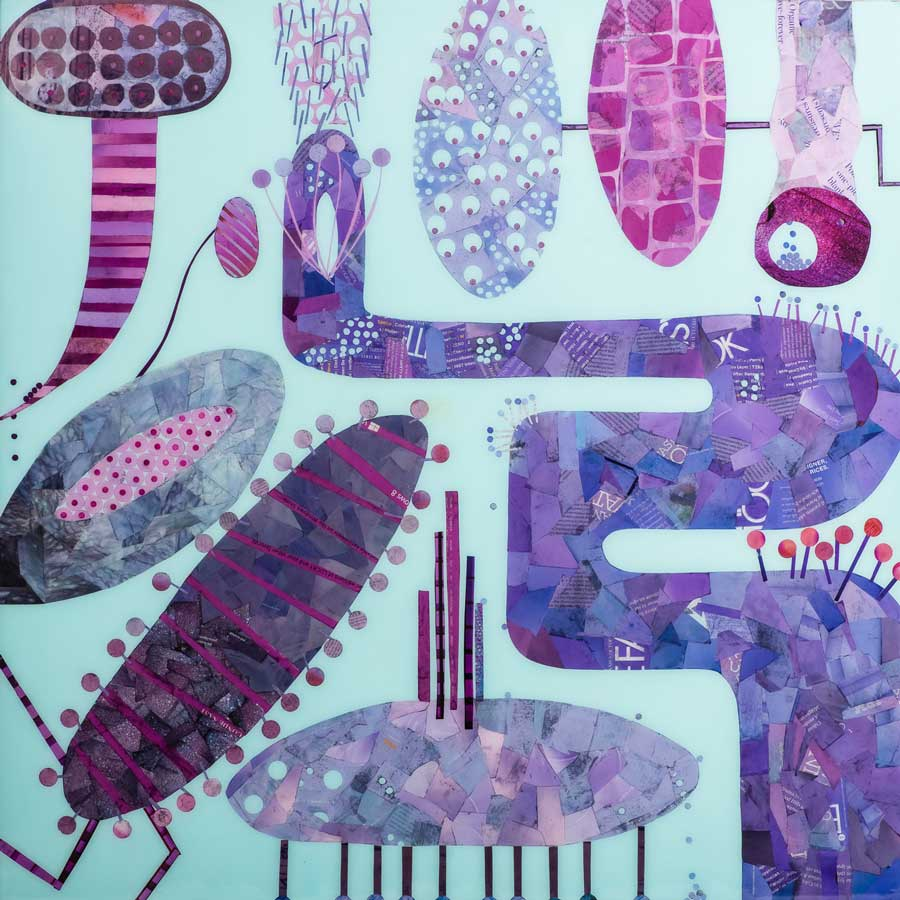 Collage No308 by Suzanne Currie