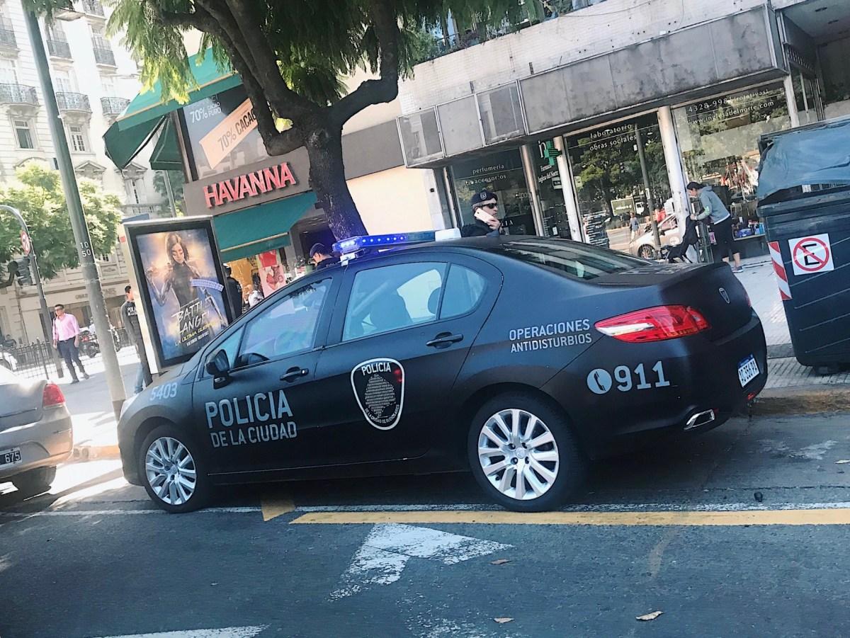 Första dagen i Buenos Aires