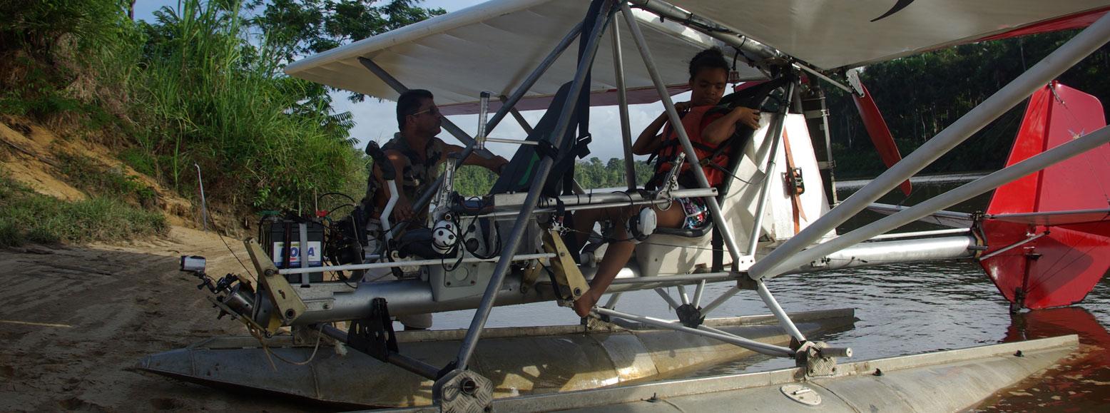 ULM Guyane - Baptêmes de l'air et vols découverte