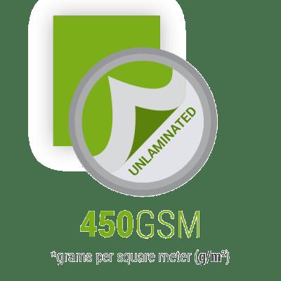 Wizytówki nielaminowane kreda 450gsm