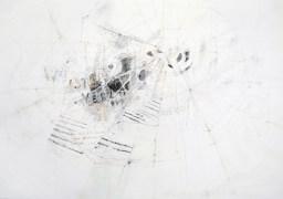 Serie 'Hör zu' 03 | 2013 | Mischtechnik auf Papier | 42 x 59,4 cm