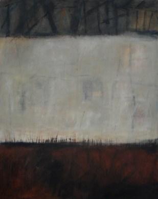Ruine 2 | 2007 | Acryl auf Leinwand | 100 x 80 cm