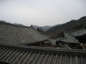 Traditional Roof - Haeinsa Temple