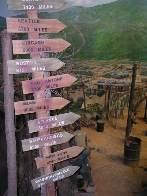 The Korean War POW camp is an interesting side trip on your journey around the island