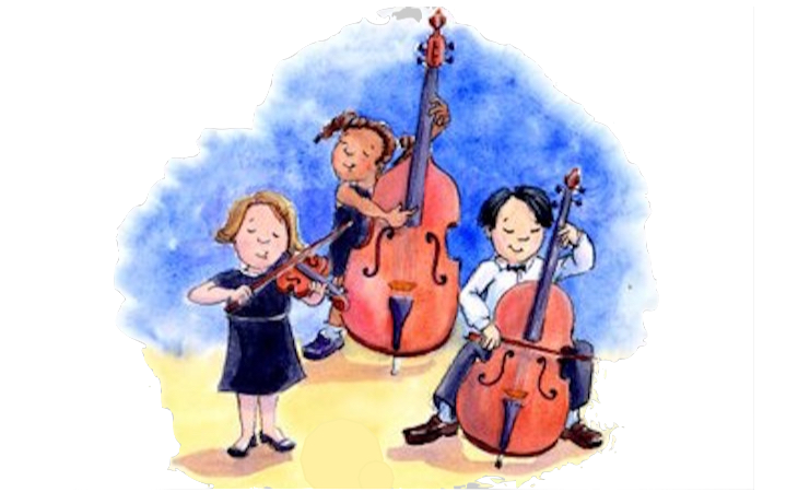 Image result for string orchestra clipart kids