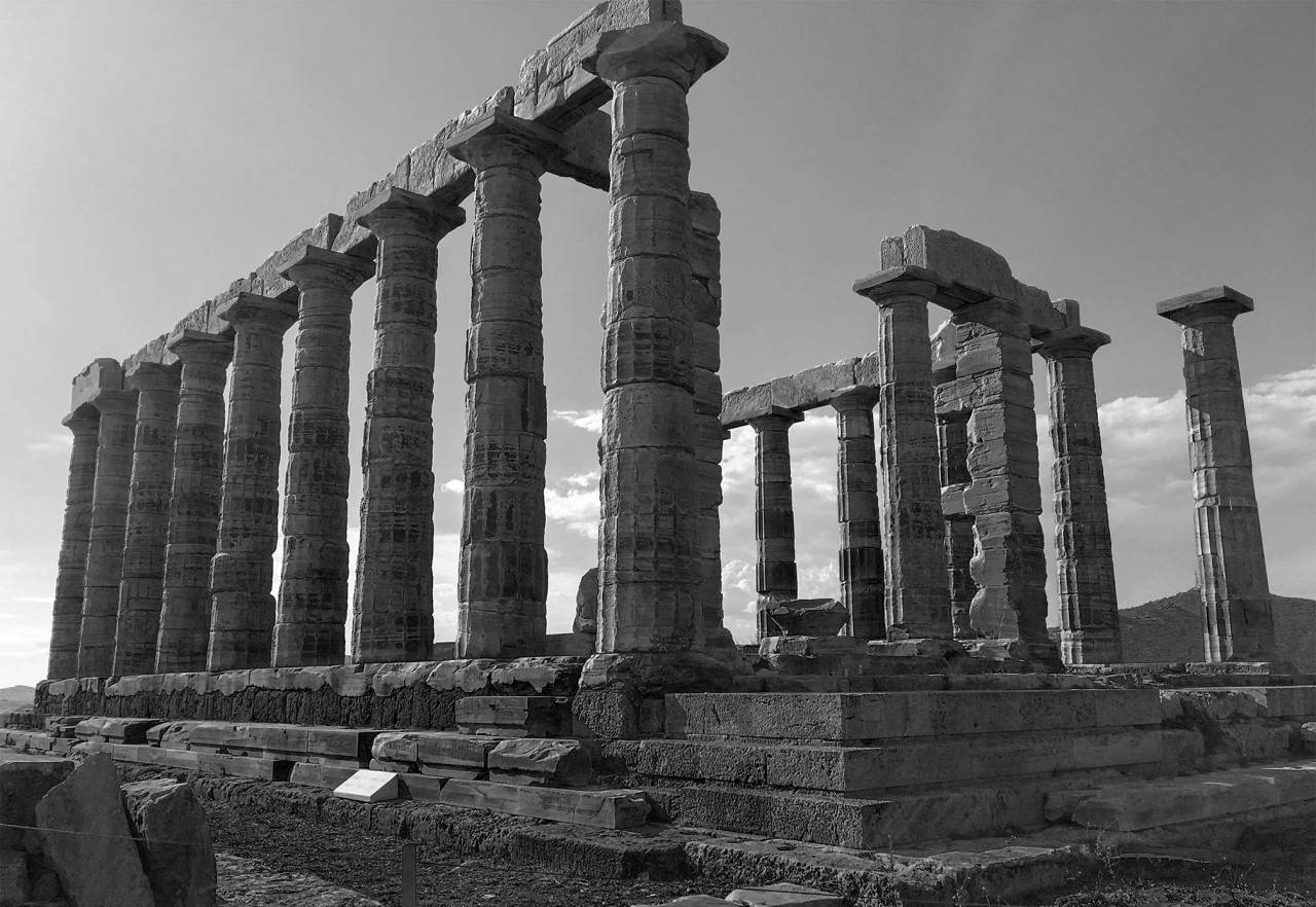 Ancient Greek Temple of Poseidon