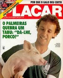 Nos anos 80, Jorginho foi ídolo da torcida do Palmeiras