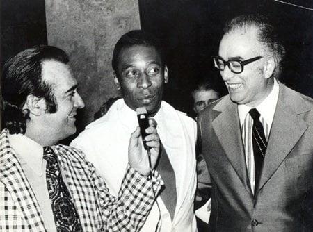 Antonio Aguillar, Pelé e Walter Lacerda (Crédito: Terceiro Tempo)