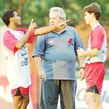 Romário, Apolinho e Sávio