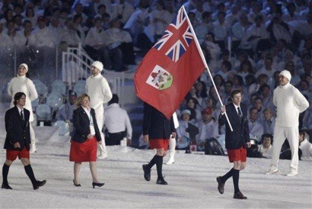 Delegação de Bermudas é famosa por entrar de bermudas na abertura dos Jogos