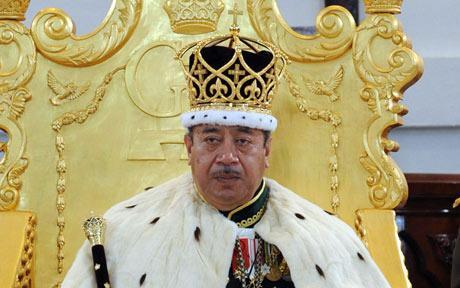 George Tupou V, rei de Tonga, é herdeiro de uma das mais antigas linhagens reais ainda existentes do mundo