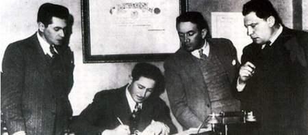 Alfonso Senior Quevedo (centro), o homem responsável pelo Eldorado (Crédito: MIllonarios/Site oficial)