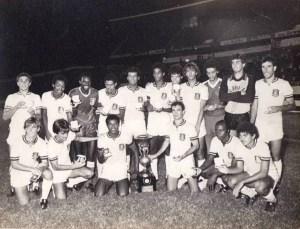 Time do Olaria que conquistou a Taça de Bronze em 1981