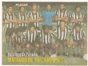 Além de campeão estadual, o Botafogo fez grande campanha no Brasileiro de 1980