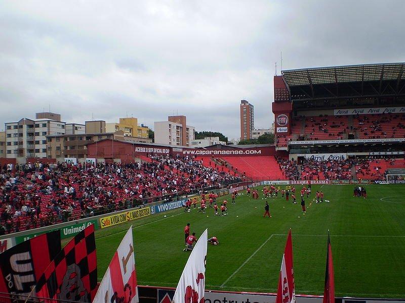 Arena da Baixada, em Curitiba (PR)